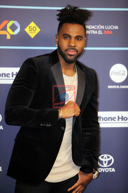 Los 40 MUSIC Awards 2016 - Photocall.<br /> Jason Derulo.