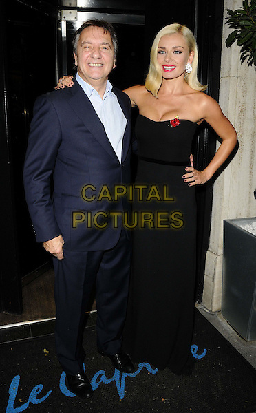 LONDON, ENGLAND - OCTOBER 28: Raymond Blanc &amp; Katherine Jenkins attends the Martell Very Special Nights launch party, Le Caprice bar &amp; restaurant on October 28, 2013 in London, England, UK.<br /> CAP/CAN<br /> &copy;Can Nguyen/Capital Pictures