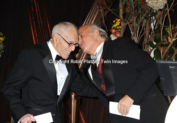 honoree Barney Rosset and Martin Garbus..at The 2008 National Book Awards Dinner and Ceremony on November 19, 2008 at Cipriani's Wall Street in New York City. ....Robin Platzer, Twin Images