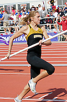 Heather Green in Pole Vault at Big 12 Championships
