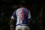 Blackburn Rovers 3, Huddersfield Town 1, 22/09/2005. Ewood Park, Carling Cup. Rovers' Georgian internationalist Zurab Khizanishvili, scorer of his side's second goal (his first for the club) and possessor of the longest shirt name on view. Photo by Colin McPherson.