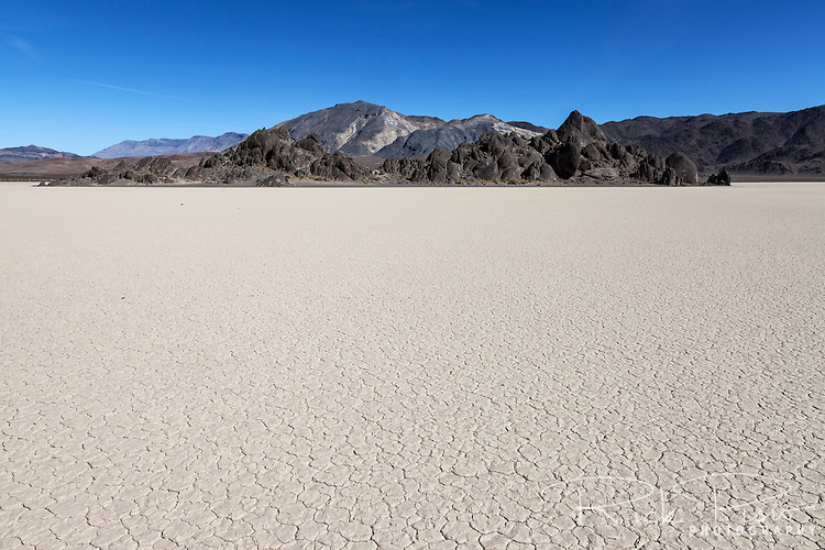 The Grandstand on the Racetrack Playa in Death Valley National Park