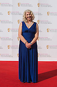 London, UK. 8 May 2016. Anne Morrison. Red carpet  celebrity arrivals for the House Of Fraser British Academy Television Awards at the Royal Festival Hall.