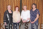 SUPPORT: Having a great time at the Kerry Supporters annual dinner at the Ballygarry House hotel and Spa on Saturday l-r: Eileen King and Tess Fitzgerald, Fenit, Peggy King, Tralee and Mary Ryan, Fenit...
