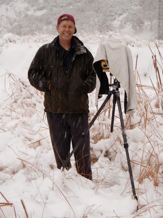 The worse the weather, the better the pictures. This photo in the field was made by Steve Roberts in December 2008. Same day as the two snow images of Zion in this collection. We had the park to ourselves all day, making first tracks anywhere we went. Absolute best day ever at ZNP.