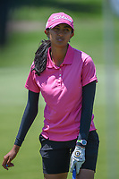 Aditi Ashok (IND) sinks her putt on 1 during round 1 of  the Volunteers of America LPGA Texas Classic, at the Old American Golf Club in The Colony, Texas, USA. 5/5/2018.<br /> Picture: Golffile | Ken Murray<br /> <br /> <br /> All photo usage must carry mandatory copyright credit (&copy; Golffile | Ken Murray)