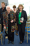 Diana Athill and Dame Joan Bakewell (green) at Christ Church during the Sunday Times Oxford Literary Festival, UK, 24 March - 1 April 2012. ..PHOTO COPYRIGHT GRAHAM HARRISON .graham@grahamharrison.com.+44 (0) 7974 357 117.Moral rights asserted.