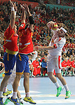 27.01.2013 Barcelona, Spain. Handball World Championships Final SPain v Denmark.