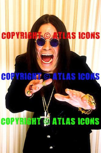 Ozzy Osbourne, Studio Session, In New York City, On 9/9/2001<br /> Photo Credit: Eddie Malluk/Atlas Icons.com