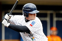 17 July 2011: David Gauthier of the Rouen Huskies is seen at bat during the 2011Challenge de France final match won 6-4 by the Rouen Huskies over the Savigny Lions, at Stade Pierre Rolland, in Rouen, France.