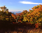 Autumn Evening from Ashokan High Point, Catskill Mountains, NY.