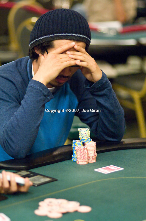 Mike Jung contemplates making a decision.