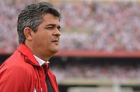 ATENÇÃO EDITOR: FOTO EMBARGADA PARA VEÍCULOS INTERNACIONAIS - SÃO PAULO, SP, 04 DE NOVEMBRO DE 2012 - CAMPEONATO BRASILEIRO - SÃO PAULO x FLUMINENSE: Ney Franco durante partida São Paulo x Fluminense válida pela 34ª rodada do Campeonato Brasileiro de 2012 no Estádio do Morumbi. FOTO: LEVI BIANCO - BRAZIL PHOTO PRESS