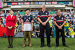 Open Ceremony as part of the Cathay Pacific / HSBC Hong Kong Sevens at the Hong Kong Stadium on 27 March 2015 in Hong Kong, China. Photo by Jerome Favre  / Power Sport Images