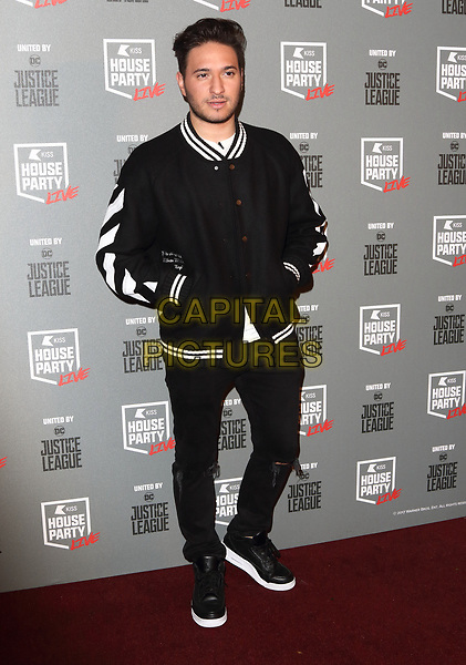 Jonas Blue at the KISS House Party at SSE Arena Wembley, London on Thursday 26 October 2017<br /> CAP/ROS<br /> &copy;ROS/Capital Pictures