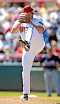6 March 2007: Washington Nationals pitcher Colby Lewis on the mound against the Atlanta Braves at Space Coast Stadium in Viera, Florida.<br /> <br /> Mandatory Photo Credit: Ed Wolfstein Photo