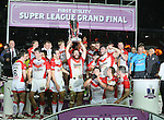 St Helens Kyle Amor - First Utility Super League Grand Final - St Helens v Wigan Warriors - Old Trafford Stadium - Manchester - England - 11th October 2014 - Pic Paul Currie/Sportimage