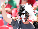 02 July 2007: A New Zealand fan. At the National Soccer Stadium, also known as BMO Field, in Toronto, Ontario, Canada. Portugal's Under-20 Men's National Team defeated New Zealand's Under-20 Men's National Team 2-0 in a Group C opening round match during the FIFA U-20 World Cup Canada 2007 tournament.