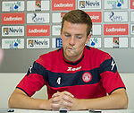 Mikey Devlin, Hamilton captain recounting his debut aged 17 at Ibrox against Rangers