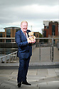 Julian Simmons UTV with his Teddy Barney, Thursday, June 13, 2019.  (Photo by Paul McErlane for the Belfast Telegraph)