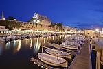 Alter Hafen mit Rathaus, Ciutadella, Menorca
