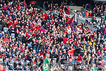 Glenbeigh Glencar supporters at the Junior Football All Ireland Final in Croke Park on Sunday.