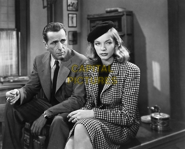 HUMPHREY BOGART & LAUREN BACALL.in To Have and Have Not.*Filmstill - Editorial Use Only*.CAP/PLF.Supplied by Capital Pictures.