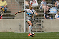 Bridgeview, IL - Saturday May 27, 2017: Abby Dahlkemper during a regular season National Women's Soccer League (NWSL) match between the Chicago Red Stars and the North Carolina Courage at Toyota Park. The Red Stars won 3-2.