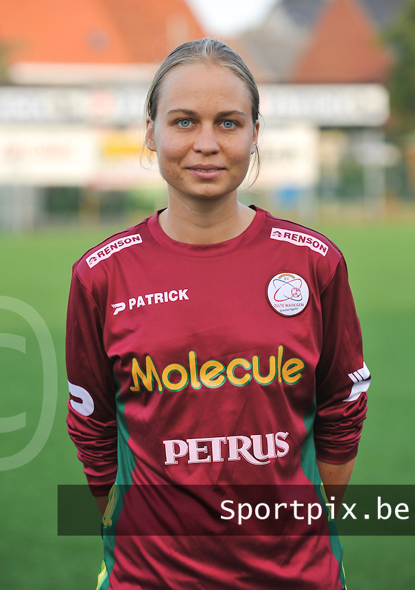 SV Dames Zulte Waregem : Eva Van Daele.foto DAVID CATRY / Vrouwenteam.be