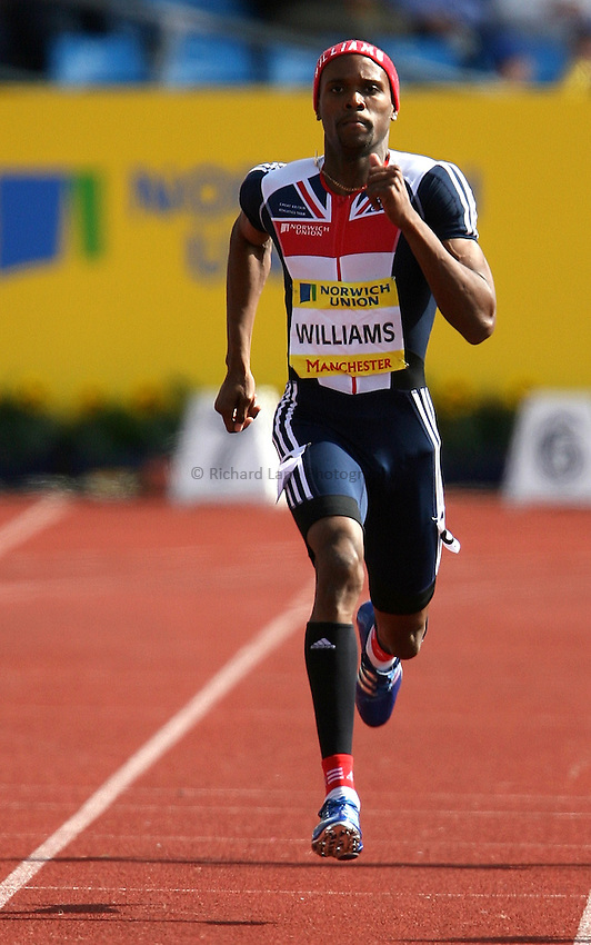 Photo: Paul Thomas/Richard Lane Photography..Norwich Union World Trials and AAA Championships. 28/07/2007...Conrad Williamson during the men's 400m.
