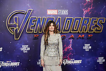 Angela Madame de Rosa attends to Avengers Endgame premiere at Capitol cinema in Madrid, Spain. April 23, 2019. (ALTERPHOTOS/A. Perez Meca)