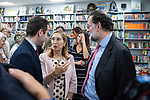 "Teodoro Garcvia Egea, Dolors Monserrat and Ana Pastor  and Ana Pastor in the presentation of the book ""Cada dia tiene su afan"" by former minister Jorge Fernandez Diaz with Mariano Rajoy<br /> October 10, 2019. <br /> (ALTERPHOTOS/David Jar)"