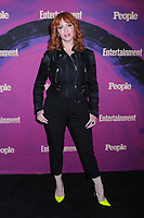 13 May 2019 - New York, New York - Christina Hendricks at the Entertainment Weekly & People New York Upfronts Celebration at Union Park in Flat Iron.   <br /> CAP/ADM/LJ<br /> ©LJ/ADM/Capital Pictures