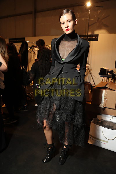 ERMANNO SCERVINO<br /> backstage at Milan Fashion Week Spring/Summer 2018 in Milan, Italy in September 2017.<br /> CAP/GOL<br /> &copy;GOL/Capital Pictures