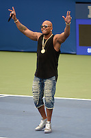 FLUSHING NY- AUGUST 27: Flo Rida performs during Arthur Ashe kids day at the USTA Billie Jean King National Tennis Center on August 27, 2016 in Flushing Queens. Photo byMPI04 / MediaPunch