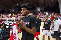 NWA Democrat-Gazette/BEN GOFF @NWABENGOFF<br /> Arkansas basketball Saturday, Oct. 5, 2019, during the annual Arkansas Red-White Game at Barnhill Arena in Fayetteville.