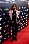 Vicky Larraz attends to El Jovencito Frankenstein premiere at La Luz Philips Teather in Madrid, Spain. November 13, 2018. (ALTERPHOTOS/A. Perez Meca)