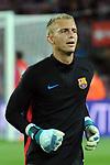 League Santander 2017/2018. Game: 03.<br /> FC Barcelona vs RCD Espanyol: 5-0.<br /> Jasper Cillessen.