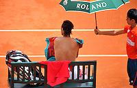 David FERRER / Rafael NADAL - 08.06.2012 - Roland Garros 2012 - Photo: Dave Winter