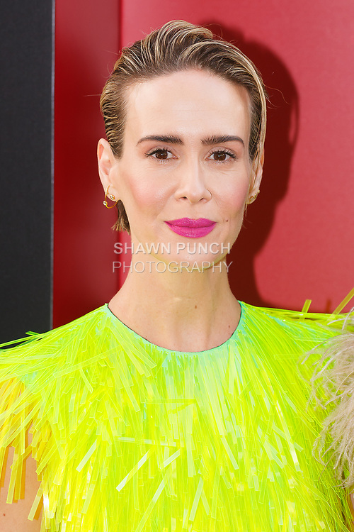 Sarah Paulson arrives at the World Premiere of Ocean's 8 at Alice Tully Hall in New York City, on June 5, 2018.