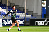 Erwin Mulder of Swansea City during the pre-match warm-up for the pre-season friendly match between Bristol Rovers and Swansea City at The Memorial Stadium in Bristol, England, UK. Tuesday, 23 July 2019