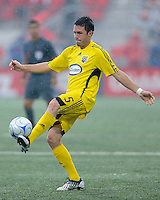 Danny O'Rourke (5) in action at  BMO Field on Saturday September 13, 2008. .The game ended in a 1-1 draw.