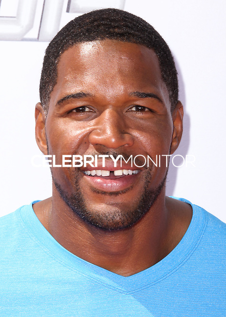 WESTWOOD, LOS ANGELES, CA, USA - JULY 17: Michael Strahan at the Nickelodeon Kids' Choice Sports Awards 2014 held at UCLA's Pauley Pavilion on July 17, 2014 in Westwood, Los Angeles, California, United States. (Photo by Xavier Collin/Celebrity Monitor)