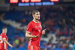 Cardiff - UK - 9th September :<br />Wales v Belarus Friendly match at Cardiff City Stadium.<br />Ben Davies of Wales.<br />Editorial use only