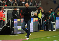 Trainer Peter Bosz (Bayer Leverkusen) enttäuscht - 18.10.2019: Eintracht Frankfurt vs. Bayer 04 Leverkusen, Commerzbank Arena, <br /> DISCLAIMER: DFL regulations prohibit any use of photographs as image sequences and/or quasi-video.