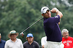 Lee Westwood (ENG) on the 11th tee on day 1 of the World Golf Championship Bridgestone Invitational, from Firestone Country Club, Akron, Ohio. 4/8/11.Picture Fran Caffrey www.golffile.ie