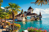 Tom Mackie, LANDSCAPES, LANDSCHAFTEN, PAISAJES, photos,+Europe, European, Lake Thun, Oberhofen Castle, Swiss, Switzerland, Thunersee, Tom Mackie, architecture, blue, building, build+ings, castle, castles, destination, destinations, flower, flowers, horizontal, horizontals,lake, lakes, landscape, landscapes+red, tourist attraction, travel, water,Europe, European, Lake Thun, Oberhofen Castle, Swiss, Switzerland, Thunersee, Tom Mac+kie, architecture, blue, building, buildings, castle, castles, destination, destinations, flower, flowers, horizontal, horiz+,GBTM180402-1,#l#, EVERYDAY