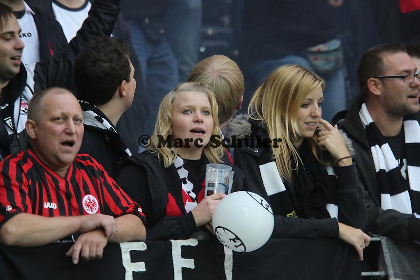 Fans von Eintracht Frankfurt - 1. Spieltag der UEFA Europa League Eintracht Frankfurt vs. Girondins Bordeaux