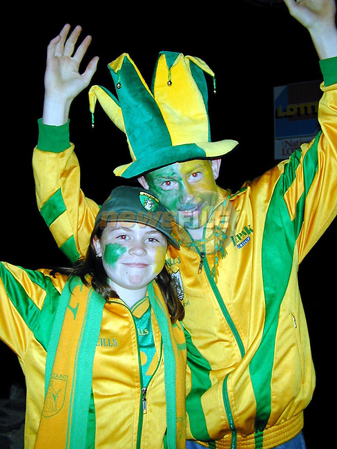 Joanne McGuinness, Julianstown and John McGuinness, Bristol celebrating in The Cock on Sunday night..Picture Paul Mohan Newsfile