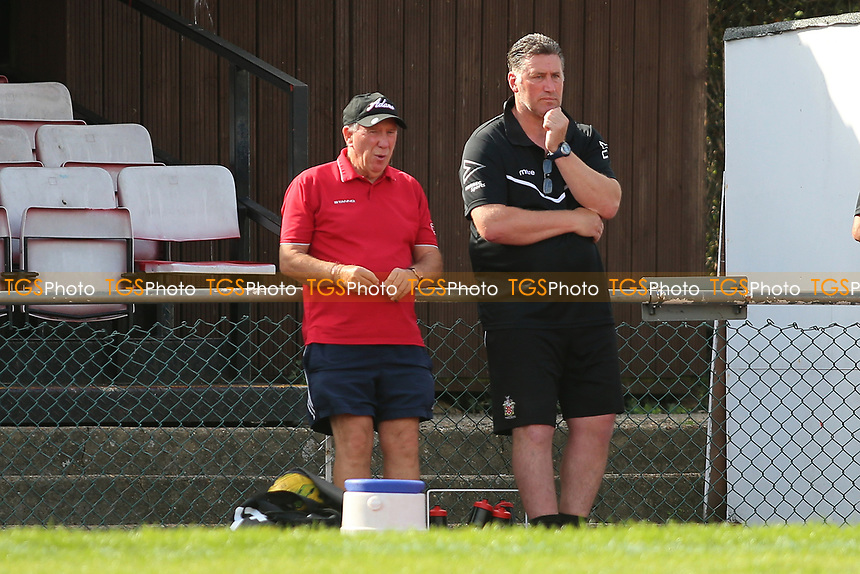 Jimmy Mcfarlane manager of Hornchurch during AFC Hornchurch vs Soham Town Rangers, Bostik League Division 1 North Football at Hornchurch Stadium on 12th August 2017